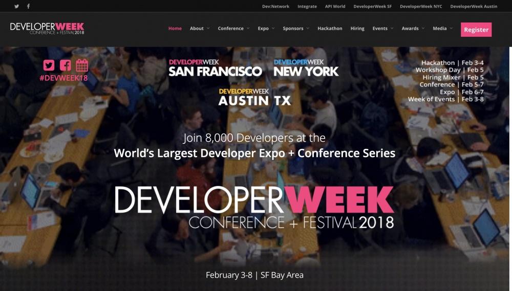 DeveloperWeek 2018