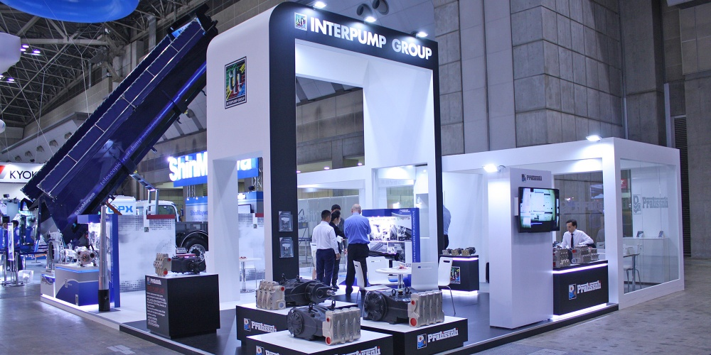 Exhibition Stand Fitters : N expo interpump |projects|exhibition trade fair