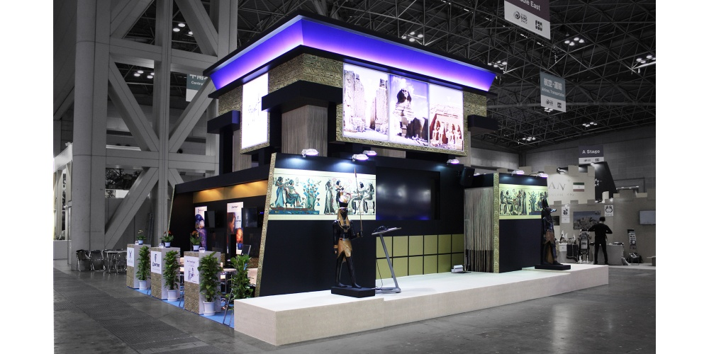 Exhibition Stand Design Egypt : Tourism expo japan egypt  projects exhibition & trade fair design